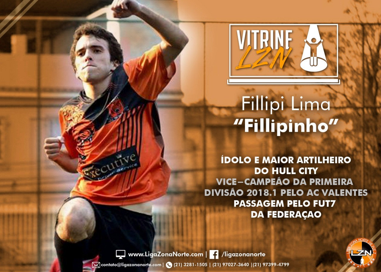 VITRINE LZN – ED. 9 – FILLIPINHO