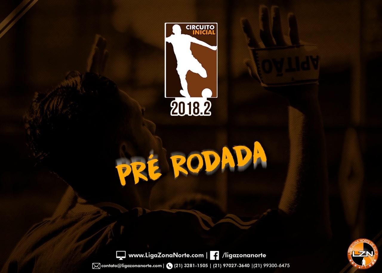 PRÉ-RODADA - CIRCUITO INICIAL