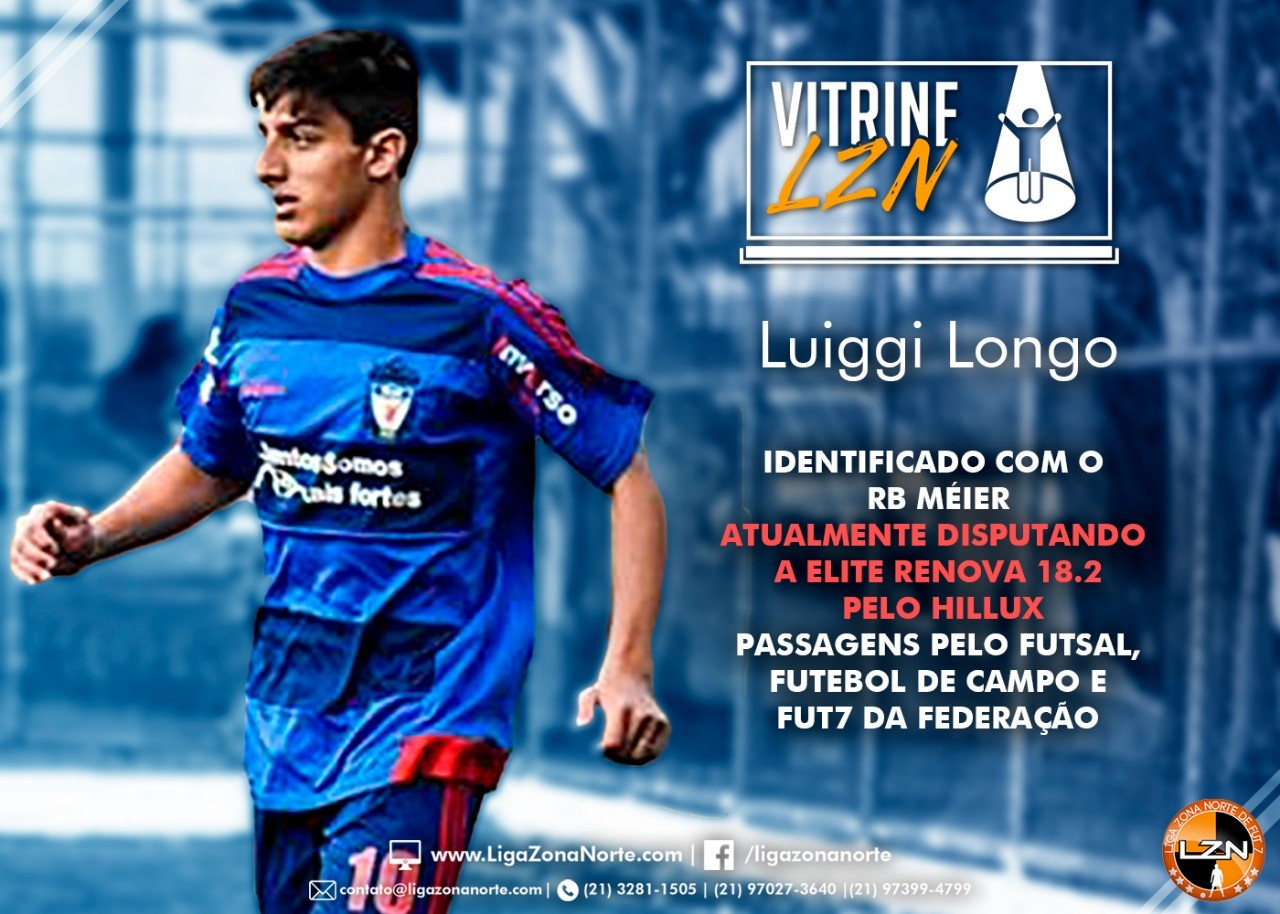 VITRINE LZN - ED. 14 - LUIGGI LONGO