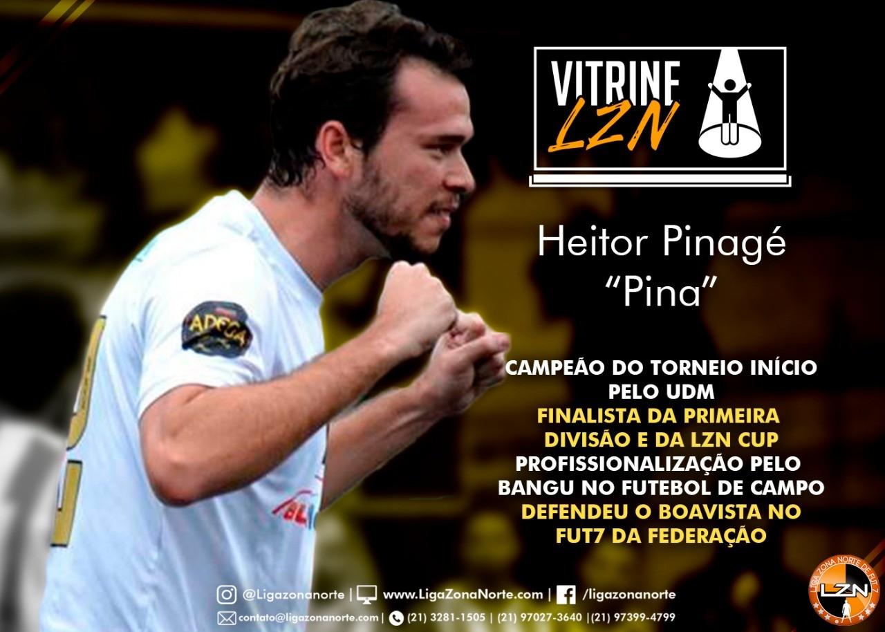 VITRINE LZN - ED. 21 - HEITOR PINAGÉ