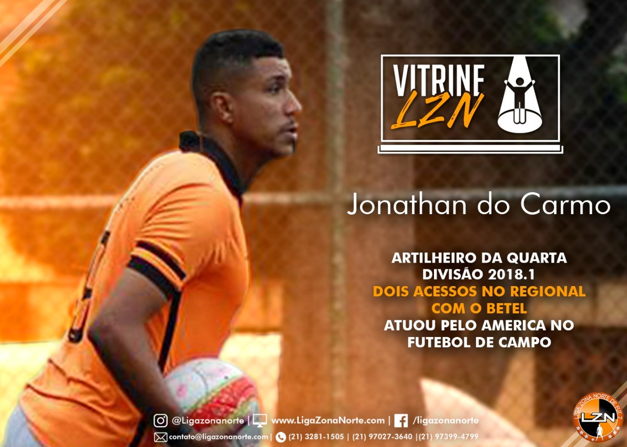 VITRINE LZN - ED. 25 - JONATHAN DO CARMO