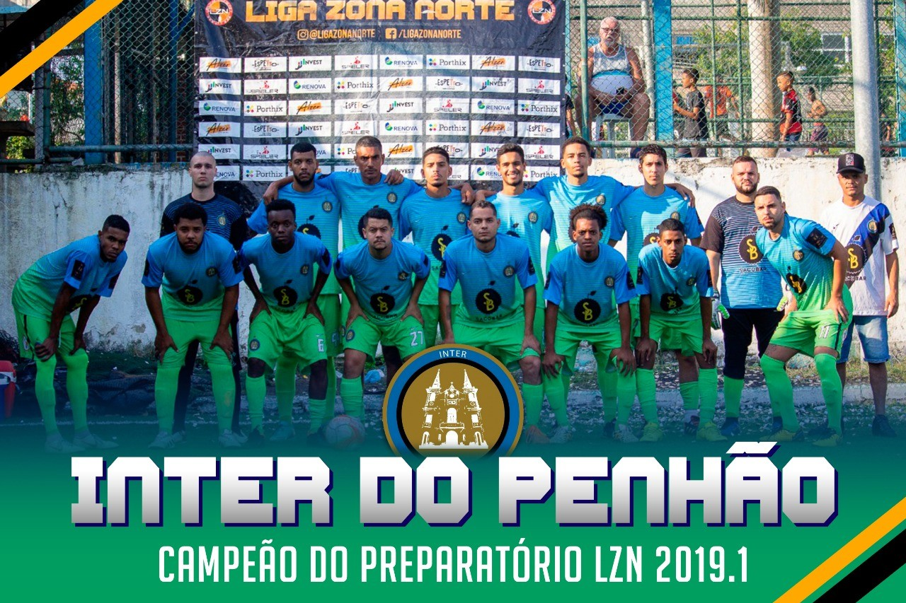 INTER DO PENHÃO CAMPEÃO DO PREPARATÓRIO
