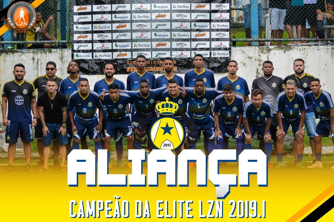 ALIANÇA CAMPEÃO DA ELITE LZN