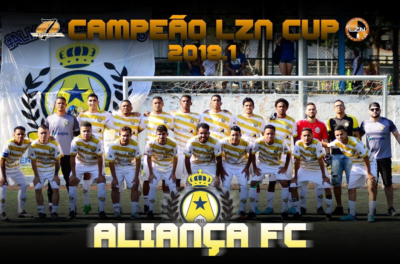 ALIANÇA CAMPEÃO DA LZN CUP 2018.1