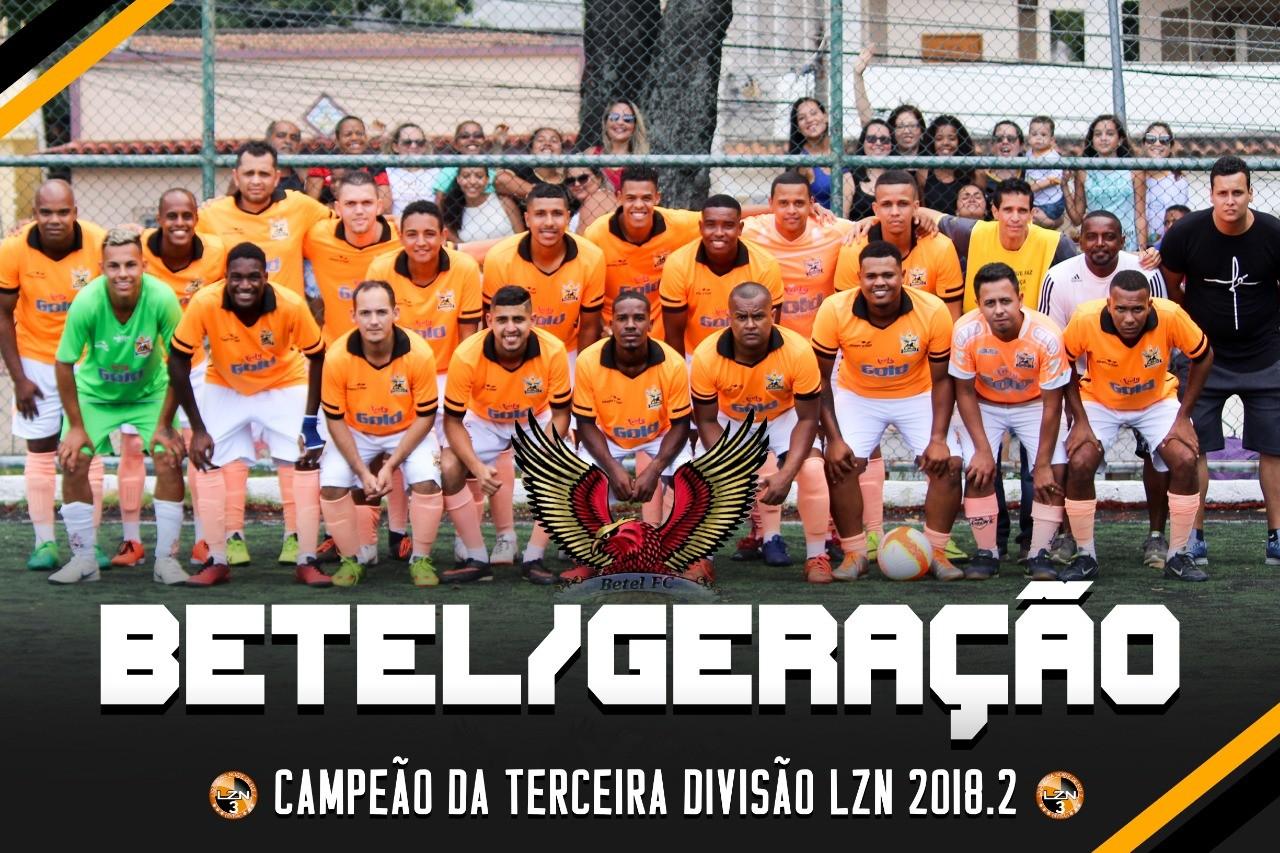 BETEL/GERAÇÃO CAMPEÃO DA TERCEIRA DIVISÃO
