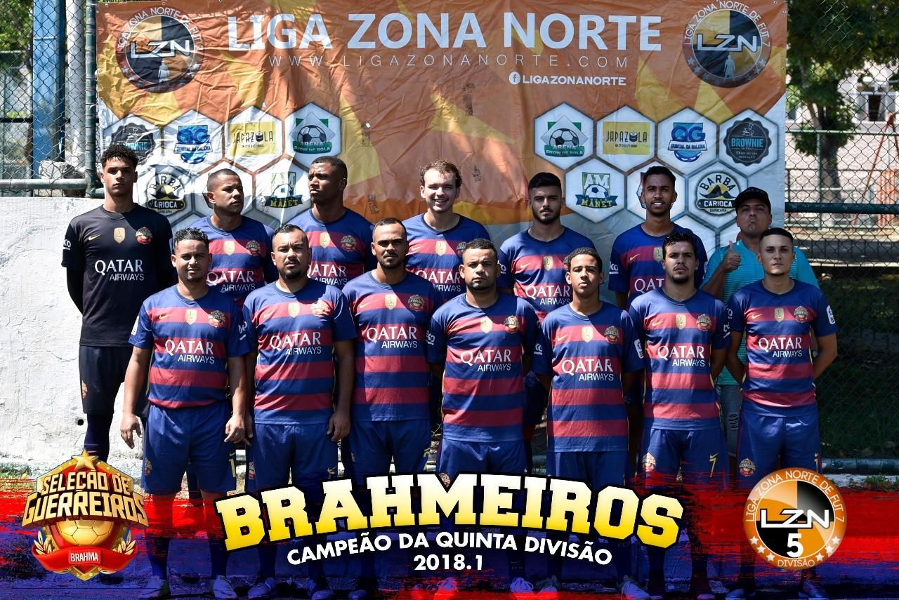 BRAHMEIRO É CAMPEÃO DA QUINTA DIVISÃO 2017.2