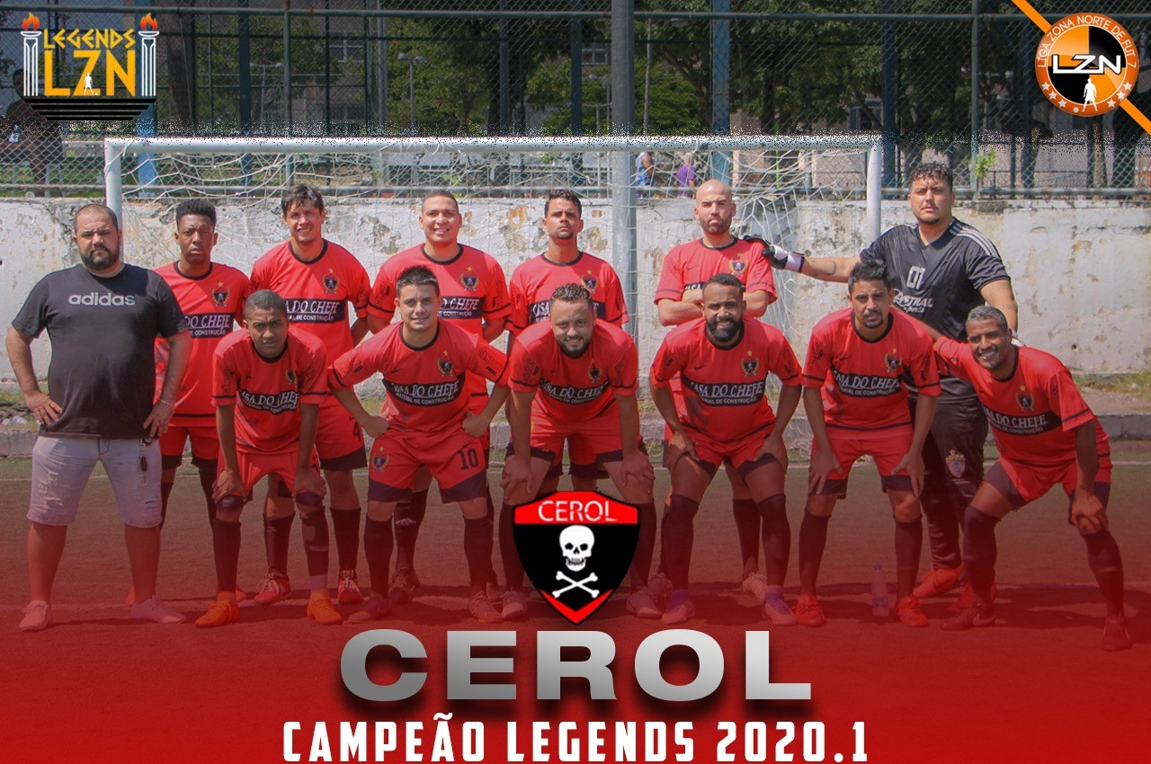 CEROL CAMPEÃO DO LEGENDS