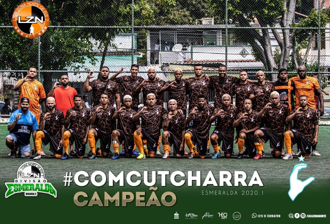 #Comcutcharra Campeão - Esmeralda 2020.1