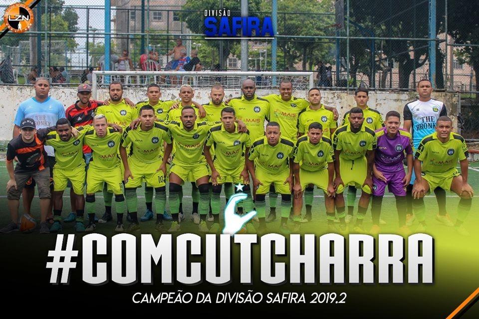 #ComCutcharra Campeão da Safira!