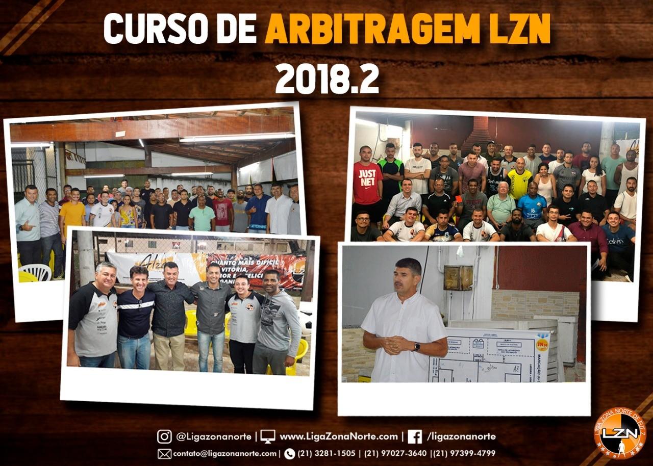 CURSO DE ARBITRAGEM 2018