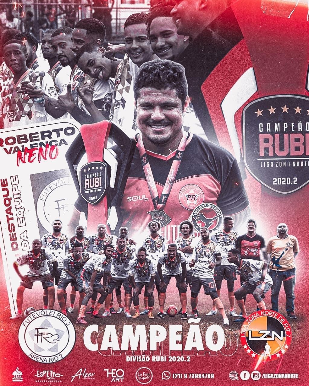 Futevolei - Campeão Rubi 2020.2