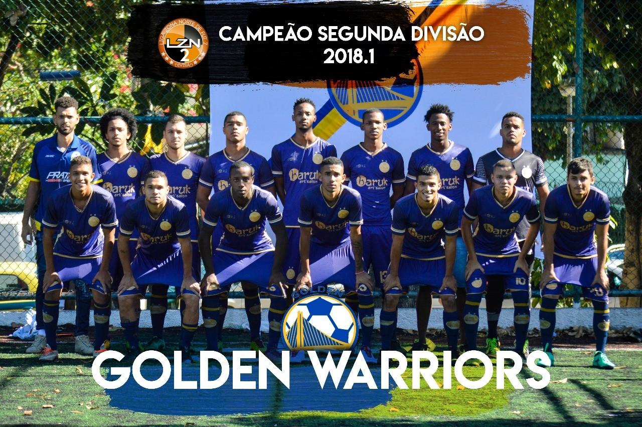 GOLDEN WARRIORS CAMPEÃO DA SEGUNDA DIVISÃO 18.1