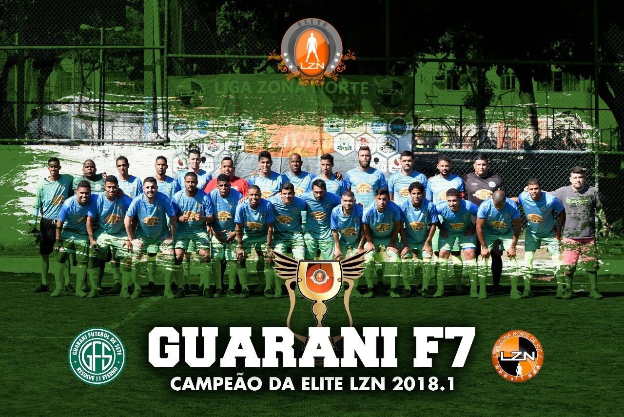 GUARANI CAMPEÃO DA ELITE LZN 2018.1