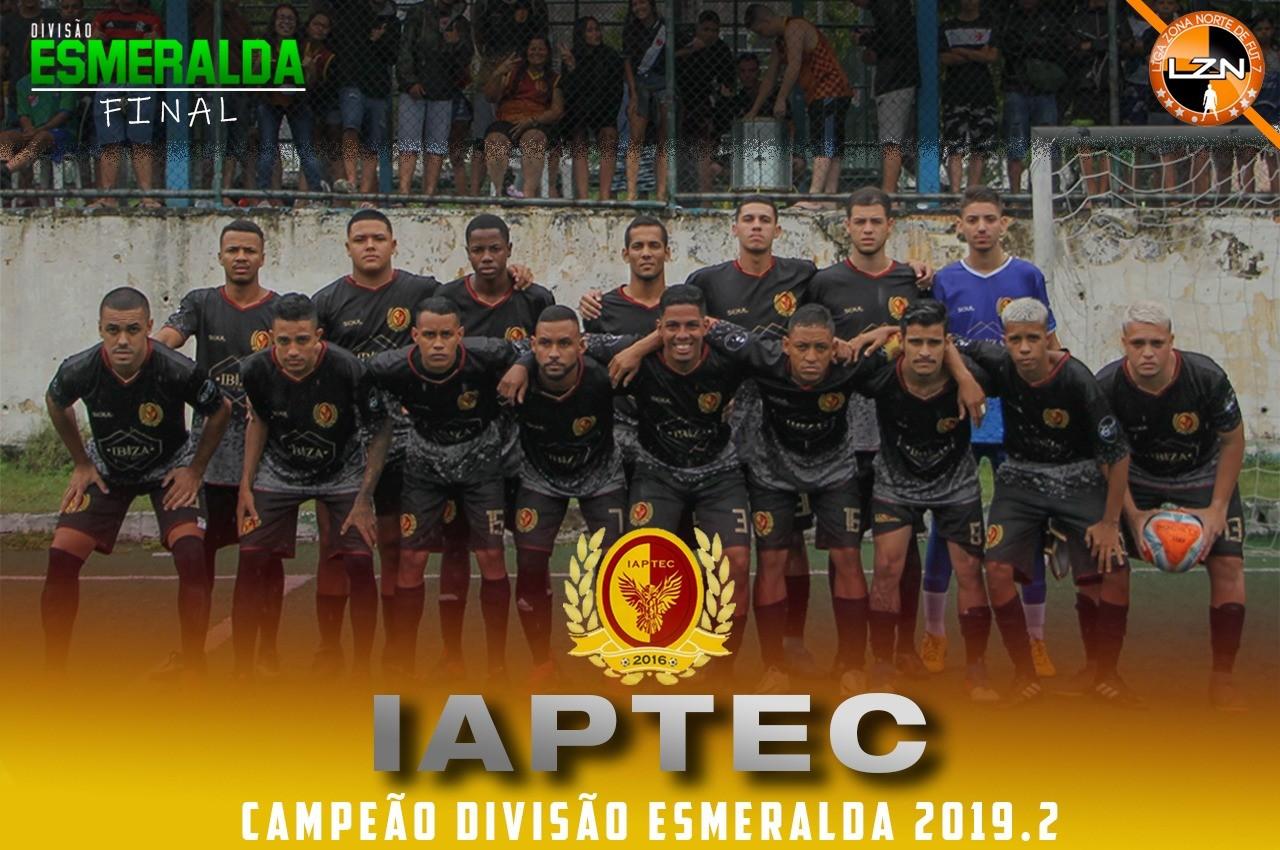IAPTEC CAMPEÃO DA ESMERALDA