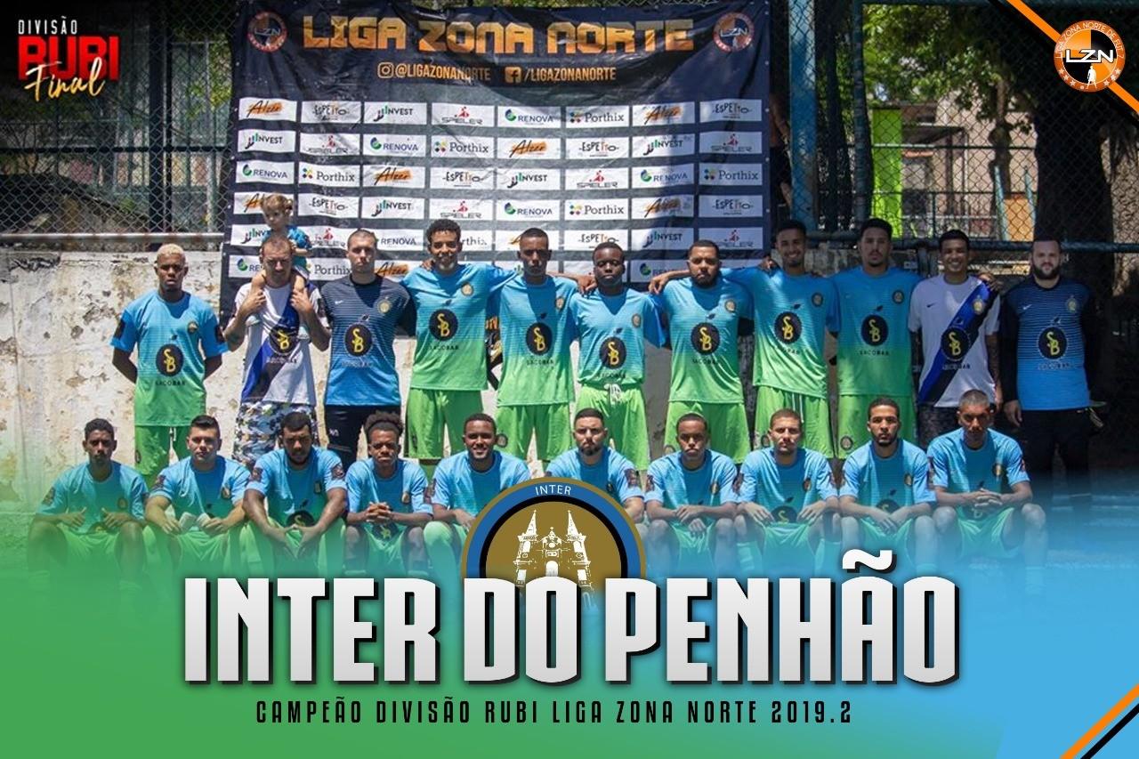 INTER DO PENHÃO CAMPEÃO DA RUBI
