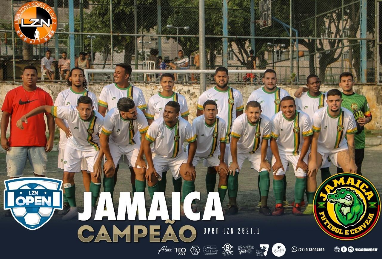 Jamaica - Campeão LZN Open - Ed. Rubi