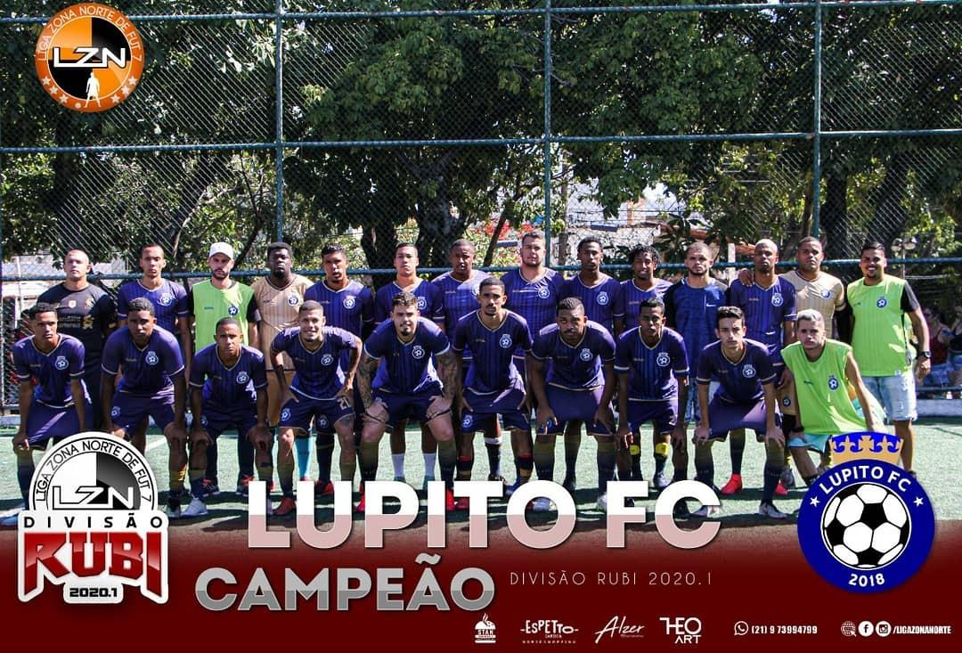 LUPITO CAMPEÃO DA RUBI 2020.1