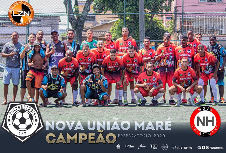 Nova União Maré - Campeão Preparatório 2020.2