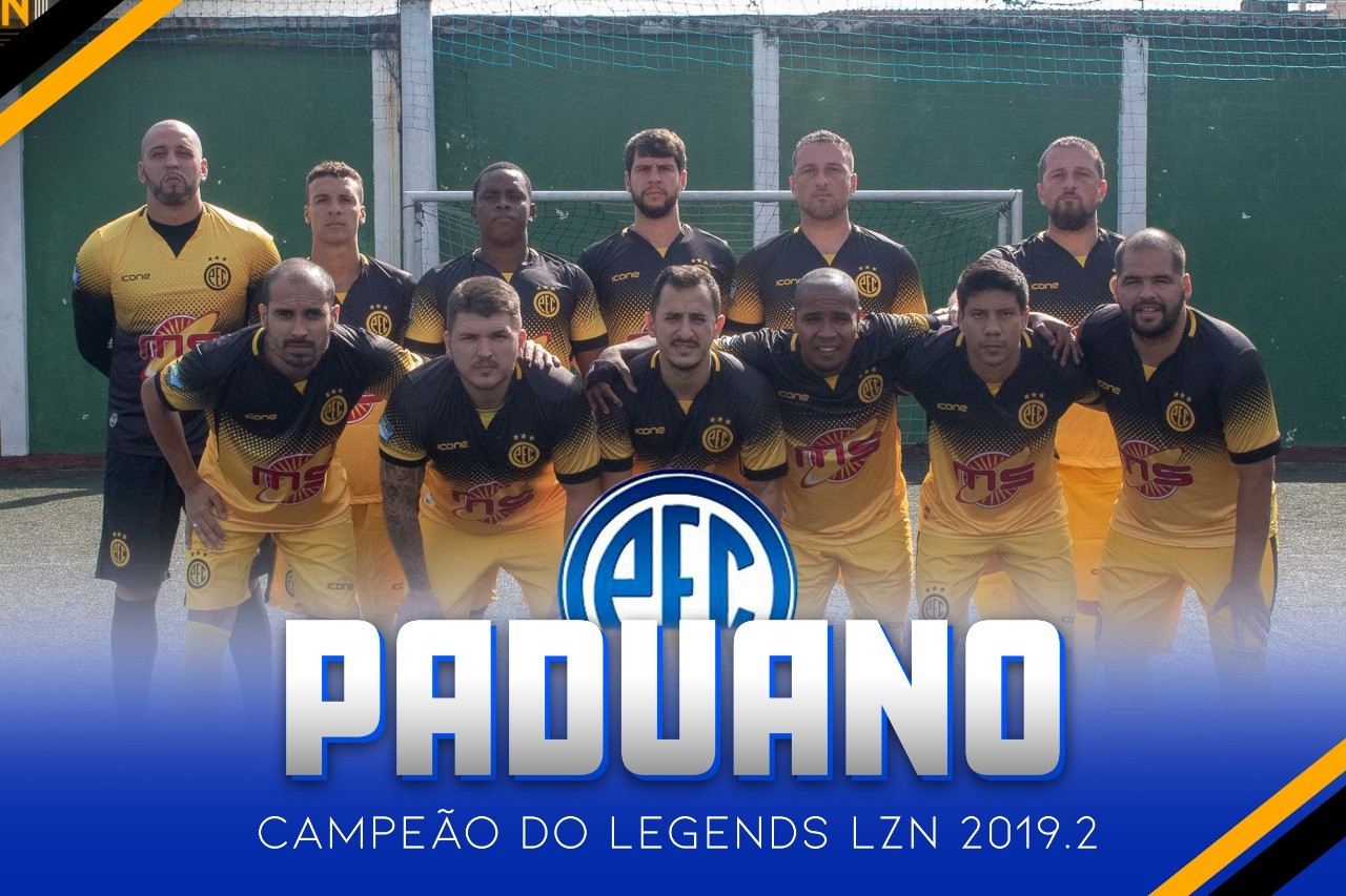 PADUANO CAMPEÃO DO LEGENDS
