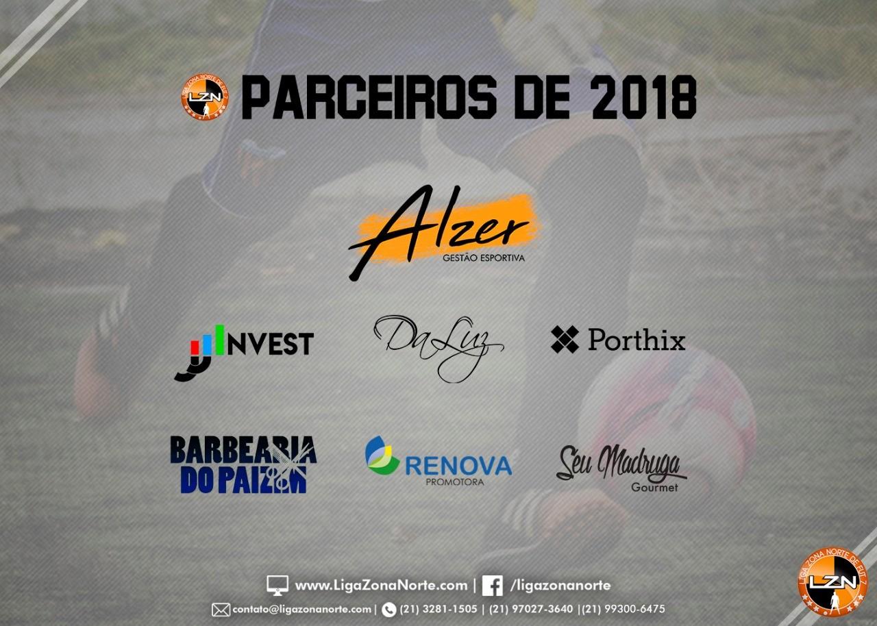 PARCEIROS DE 2018