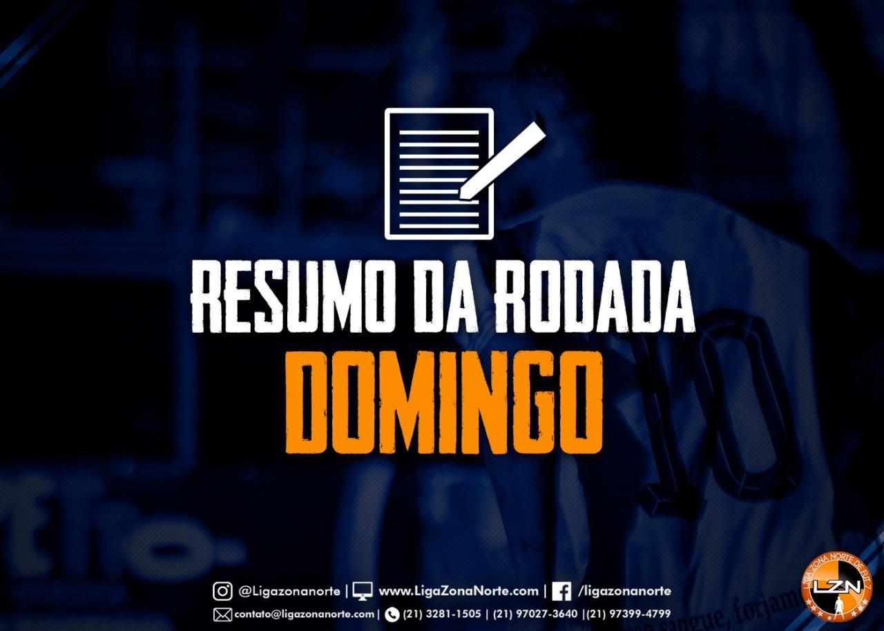 RESUMO DA RODADA - 18/08